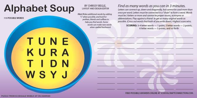 Alphabelt Soup