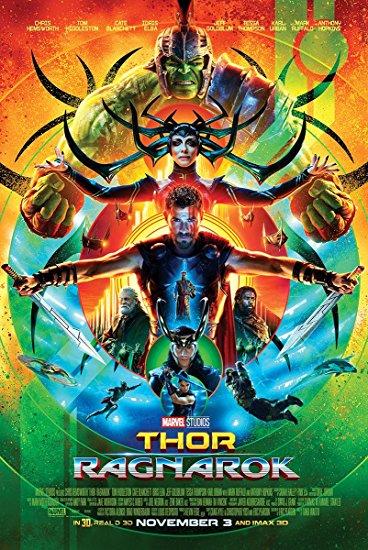 Thor Ragnarok Amazon poster