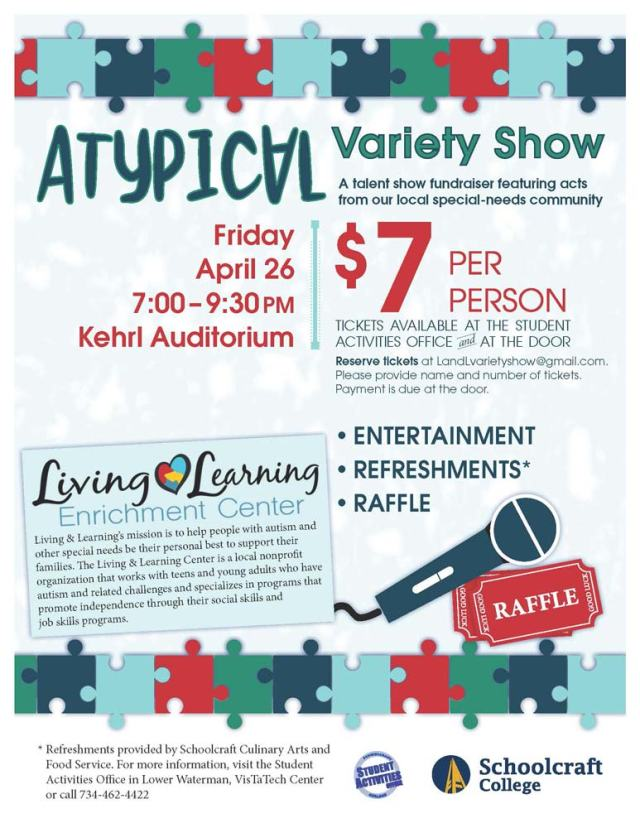 Atypical-Variety-Show-Announcement-flyer