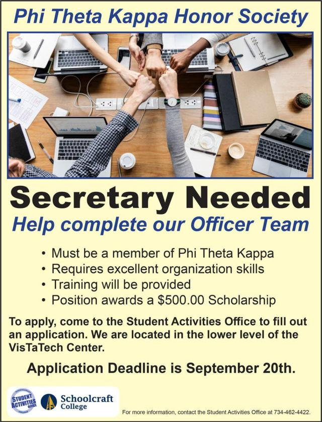 PTK_Secretary_Ad