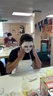 Schooled in Love: Sugar Skull Masks