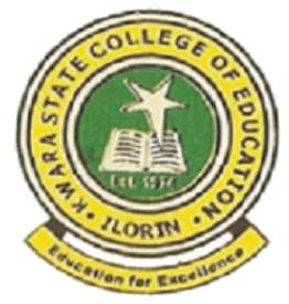 KWCOE EKSU Degree admission Form