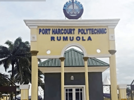 Port Harcourt Poly Remedial Form