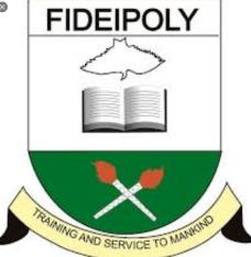 Fidei Polytechnic HND Form