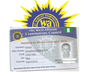 Correction Of Name And DOB In WAEC Result
