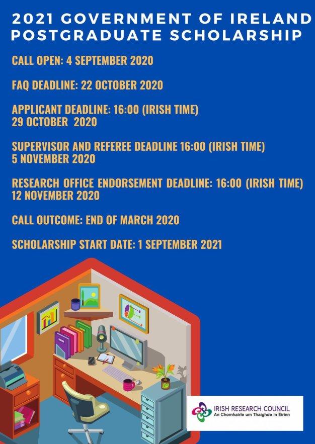 Government of Ireland Postgraduate Scholarship