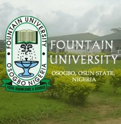 Fountain University Notice