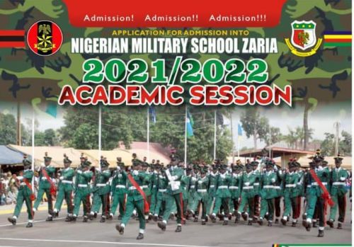 Nigerian Military School Admission Form