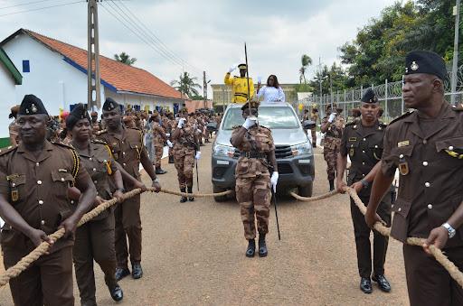 Ghana Prisons Service Shortlisted Candidates