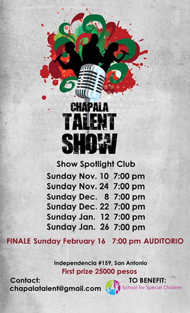 Chapala Talent Show Dates