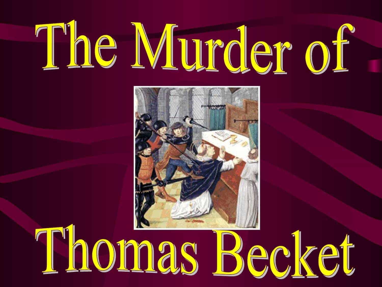 Thomas becket essay