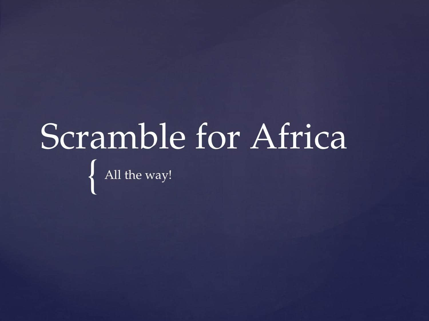 Britain In Africa S Facts Amp Information