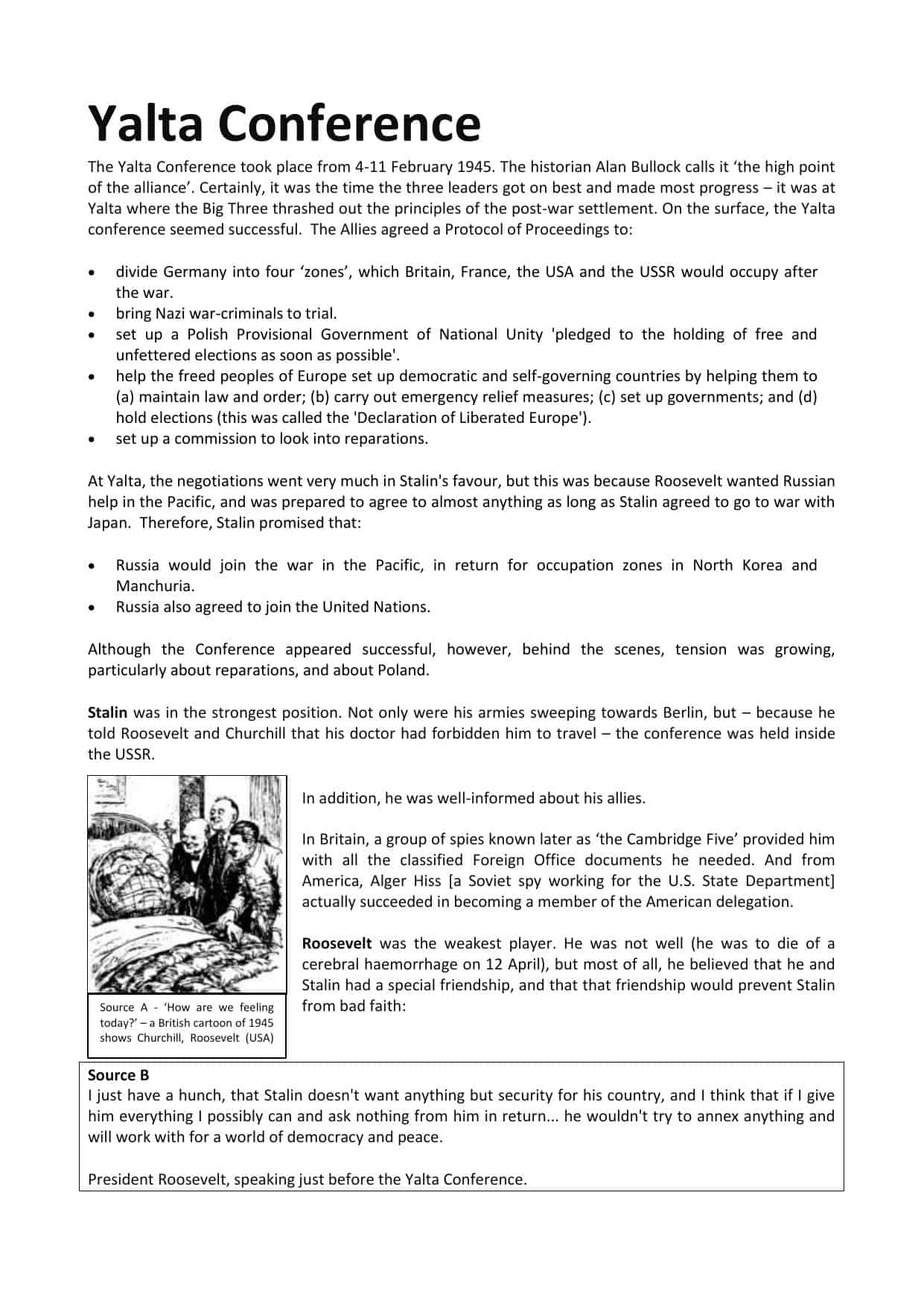 The War In The Pacific Worksheet