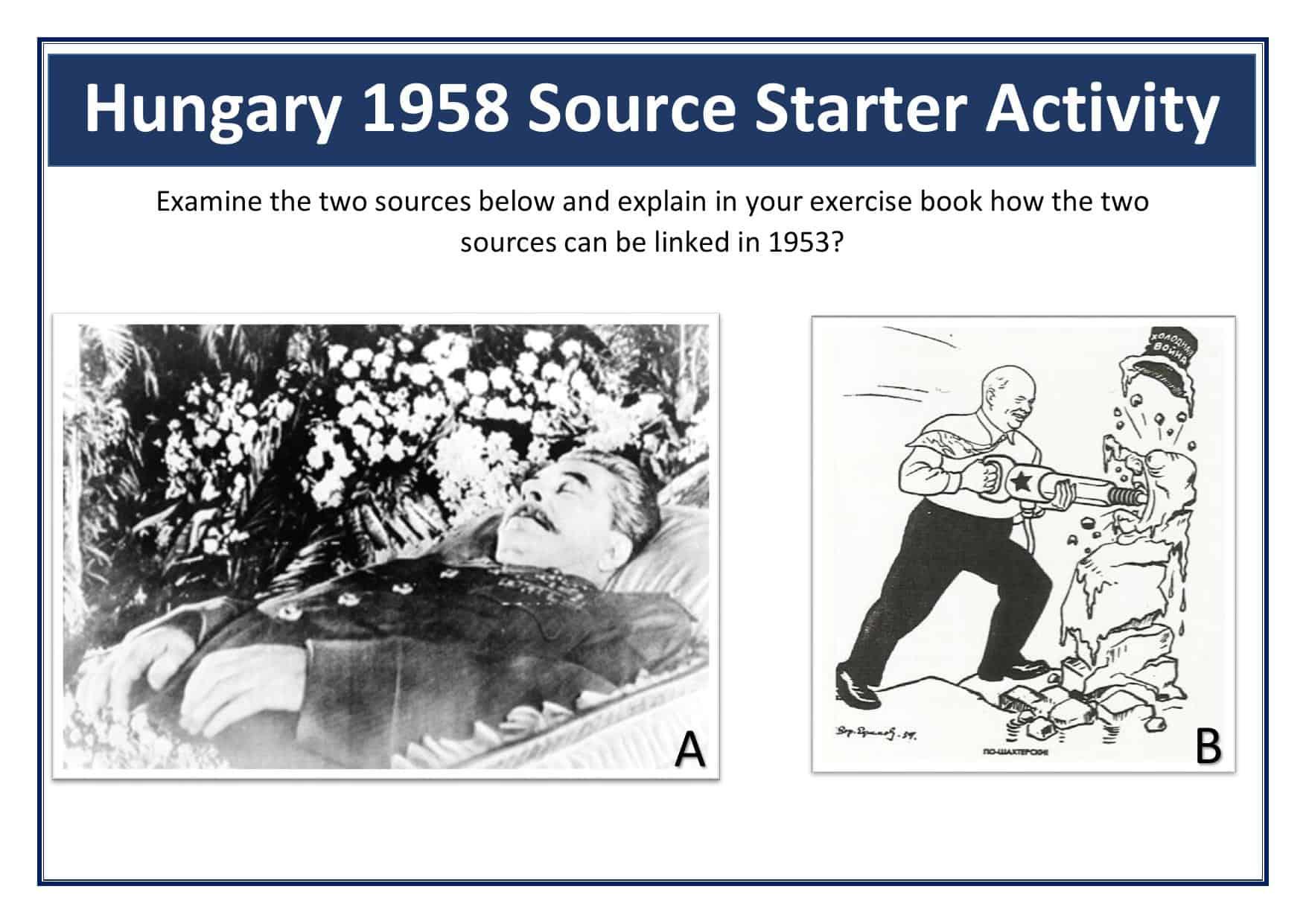 Hungary Gcse Starter Activity