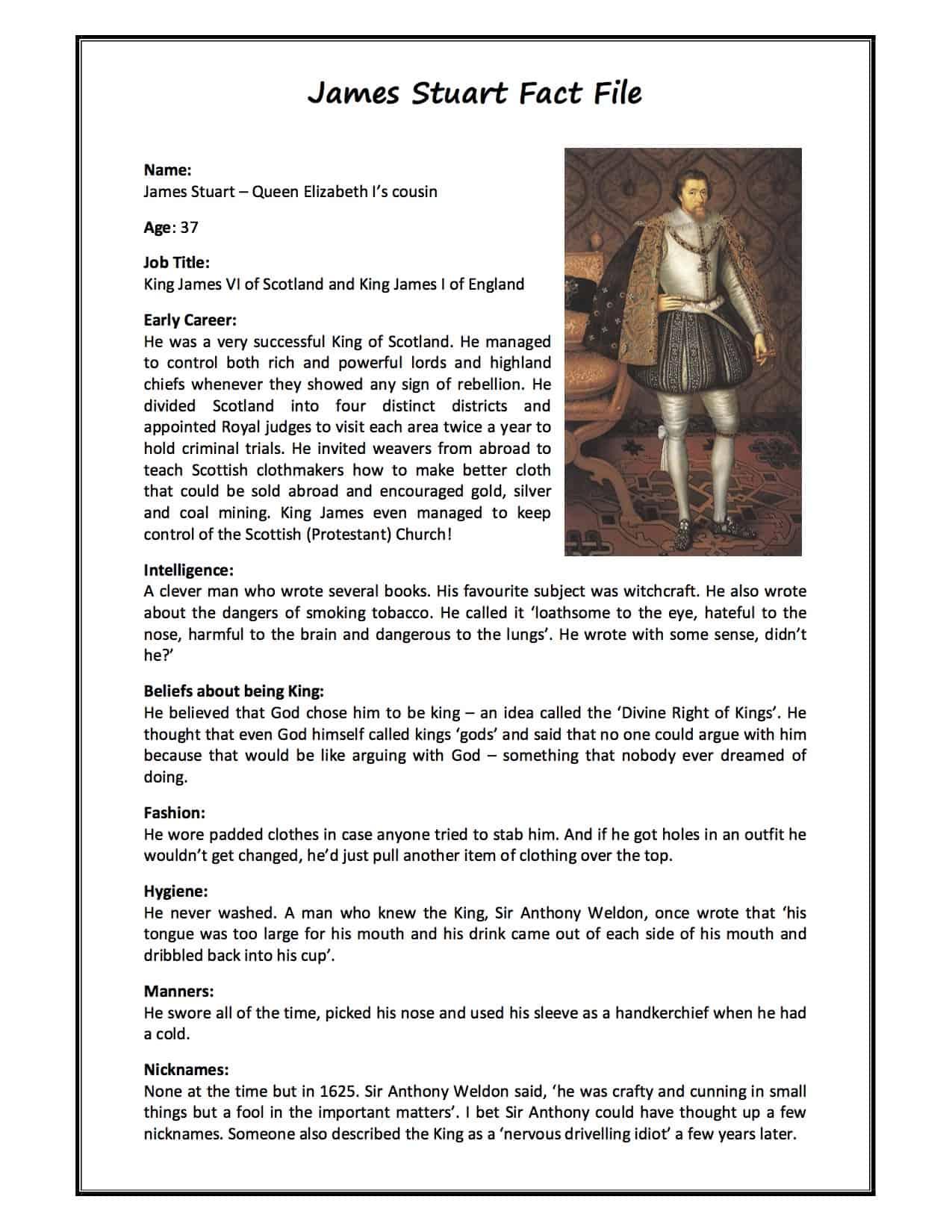 James Stuart I Facts  Information  U0026 History