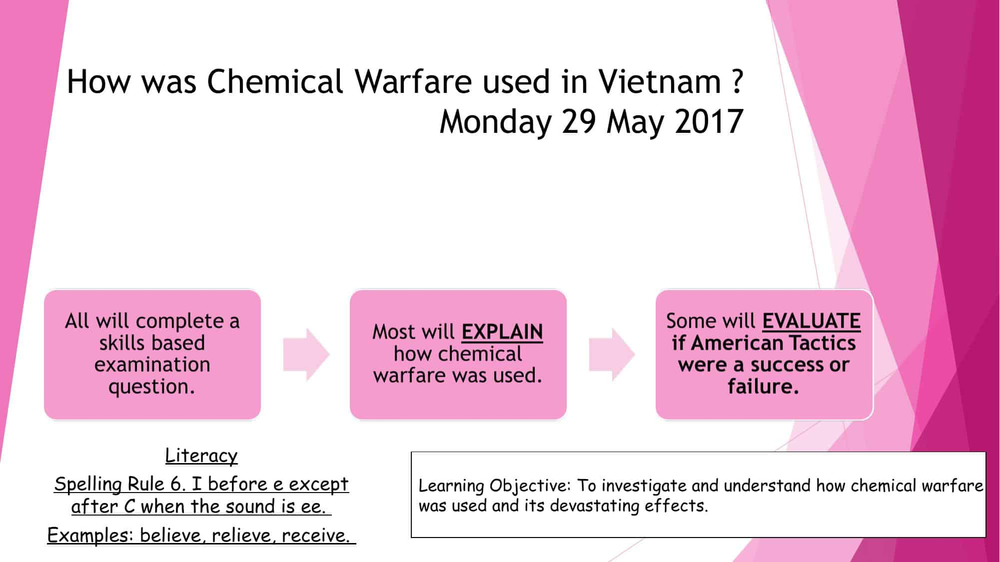 Chemical Warfare In Vietnam Powerpoint