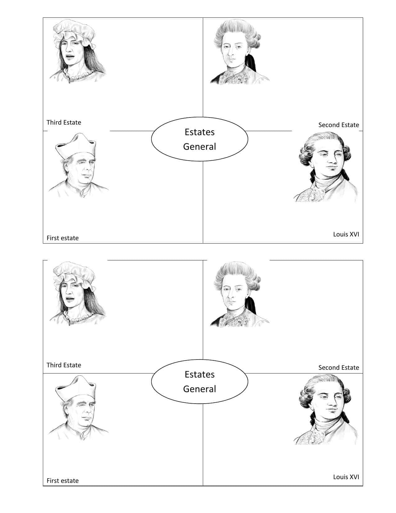 French Revolution Worksheets