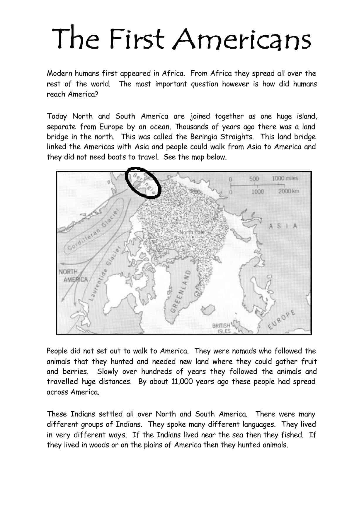Modern World History Resources