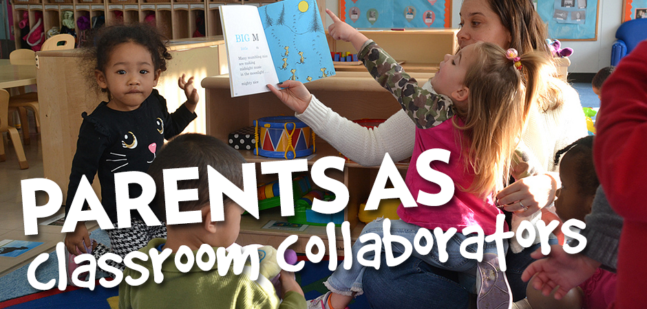 New PD: Parents as Classroom Collaborators