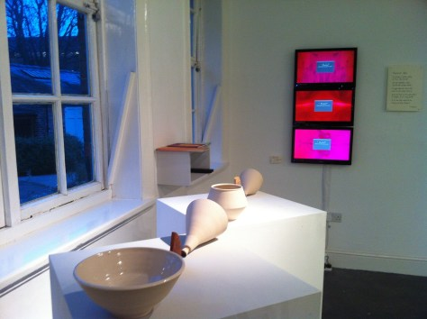 Installation shot from Transformation, curated by Jackson and Teed