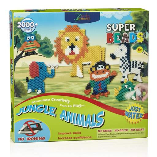 Super Beads Jungle Animals