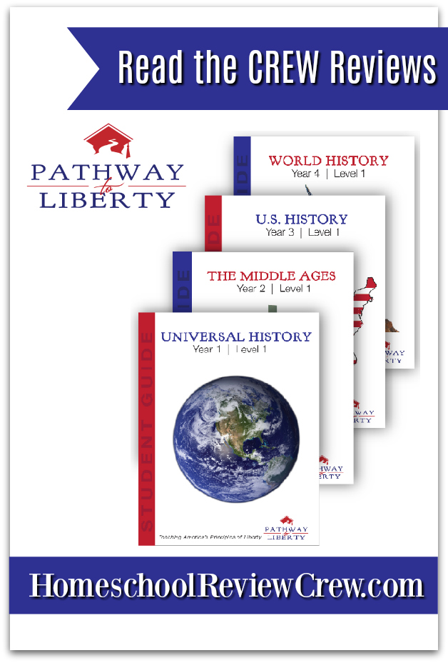Universal History,  The Middle Ages,  US History & World History Curriculum {Pathway to Liberty Homeschool Curriculum Reviews}