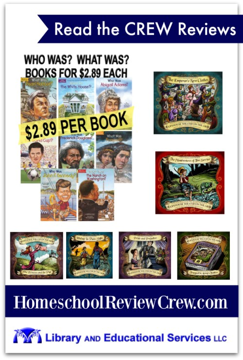 Wholesale Books for Your Homeschool {Library and Educational Services LLC Reviews}