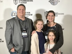 The Hampton Family at the Christian Worldview Film Festival 2