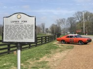 The General Lee in Leipers Fork, TN