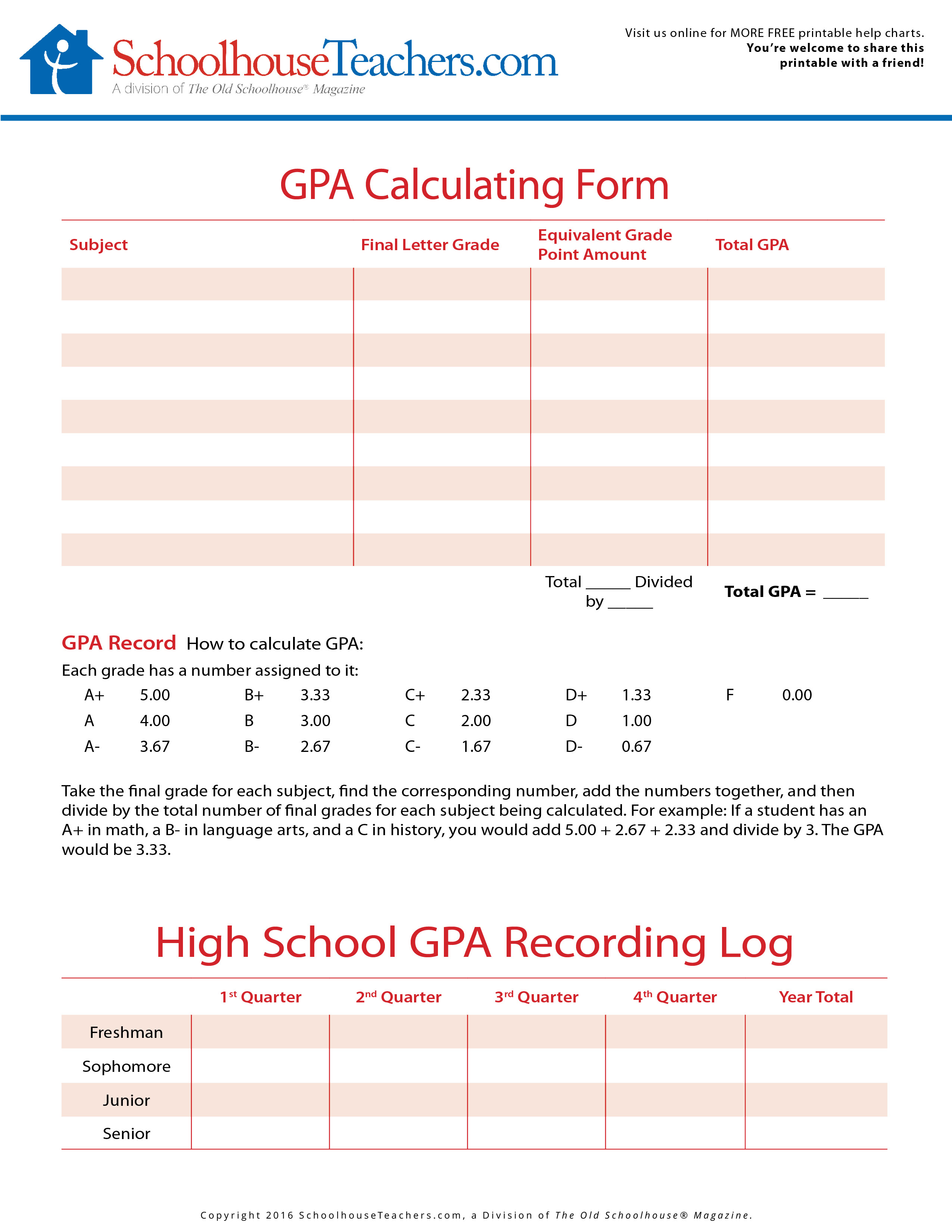 Free American History School Page Print Out Worksheets