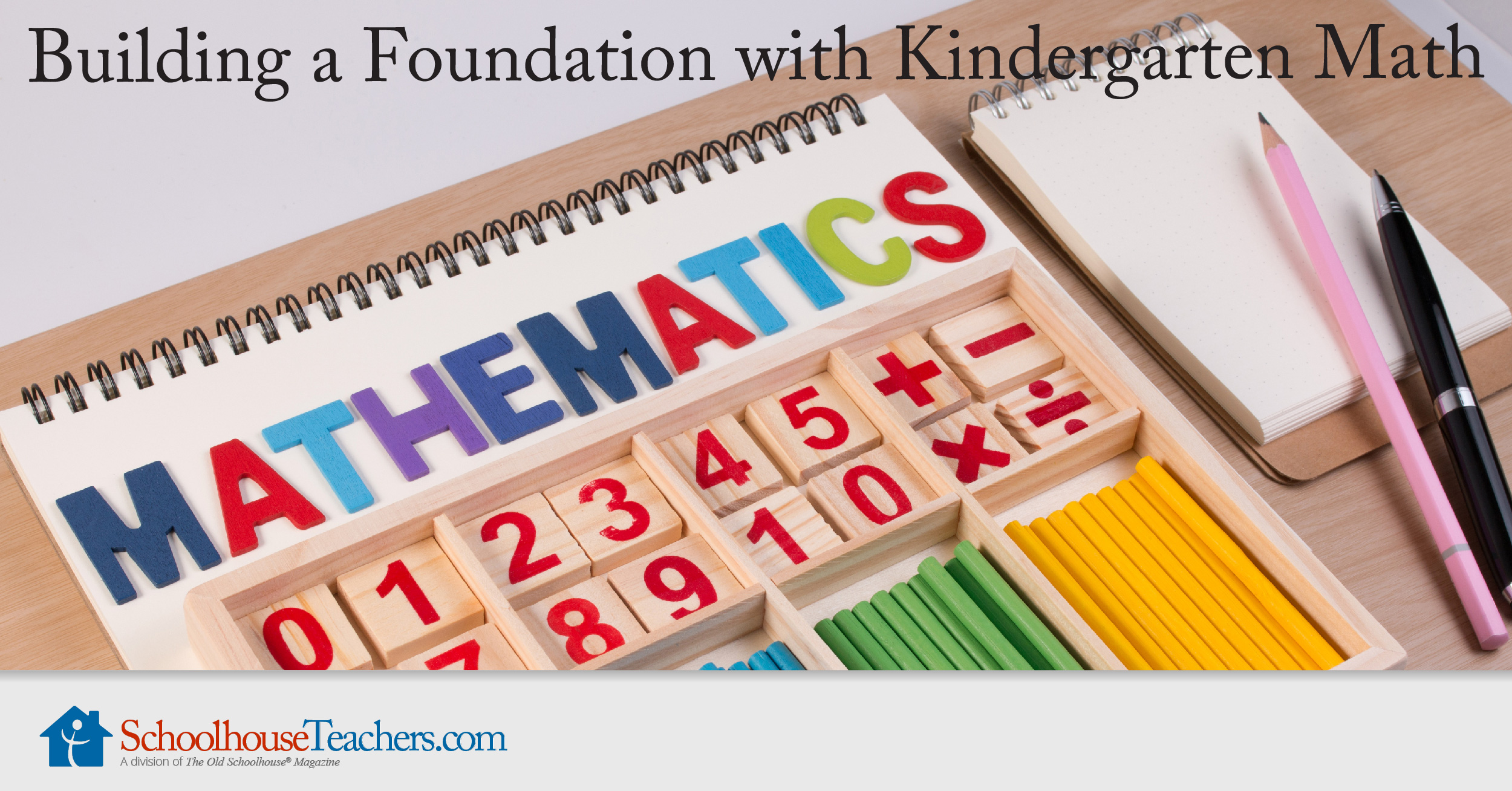 Building A Foundation With Kindergarten Math Homeschool Course