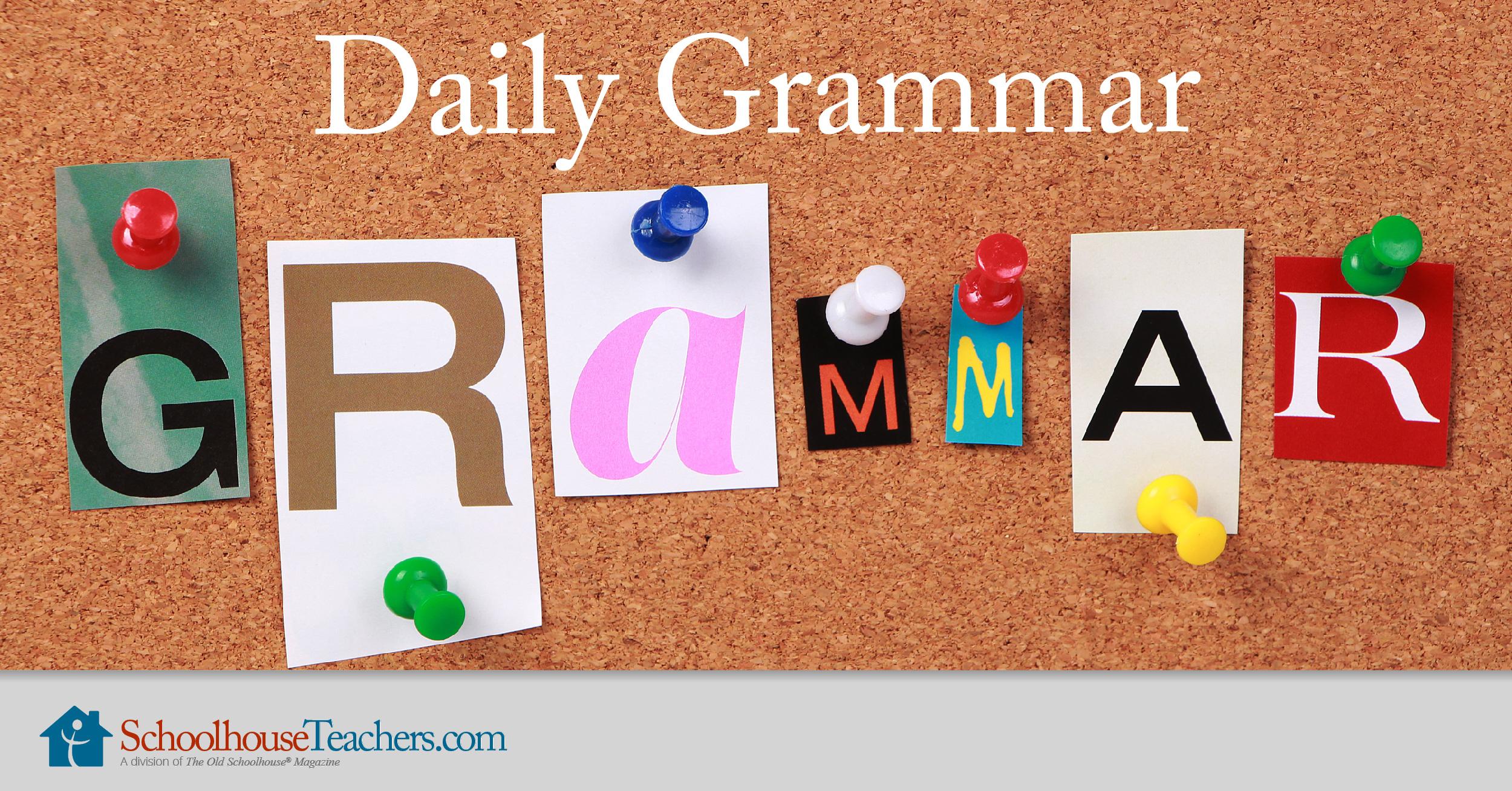 Daily Grammar Practice Homeschool Course