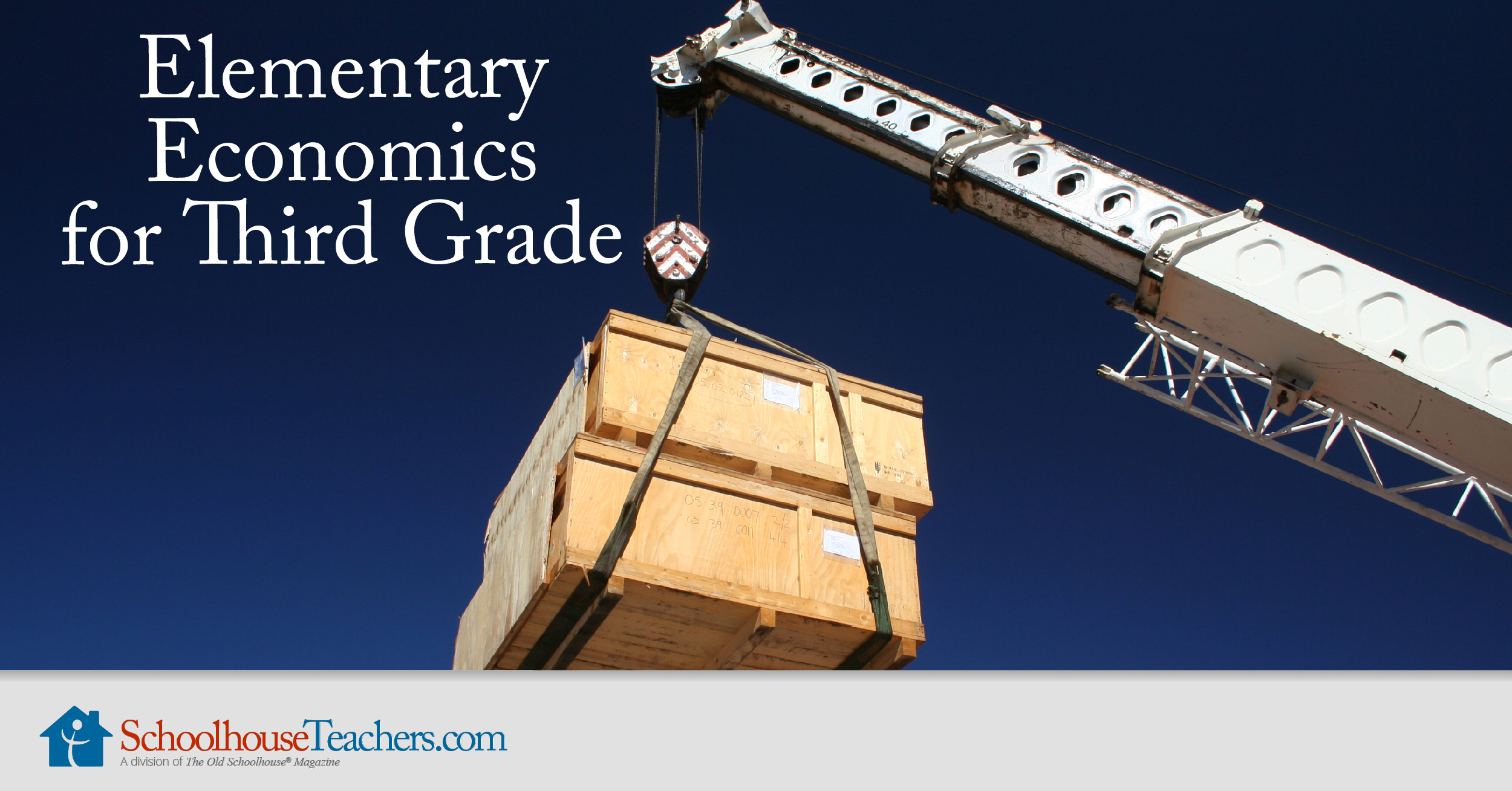 Elementary Economics For Third Grade Homeschool Course