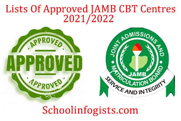 List of approved jamb cbt centres