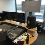 Recording studio at Gems