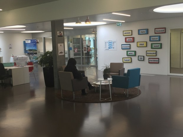 Reception area in Gems