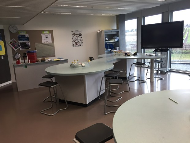 Science laboratory in Gems