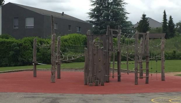 Recreational area at La Chataigneraie