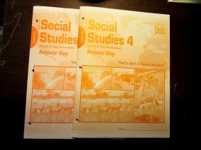 Christian Light Social Studies Answer Keys-new