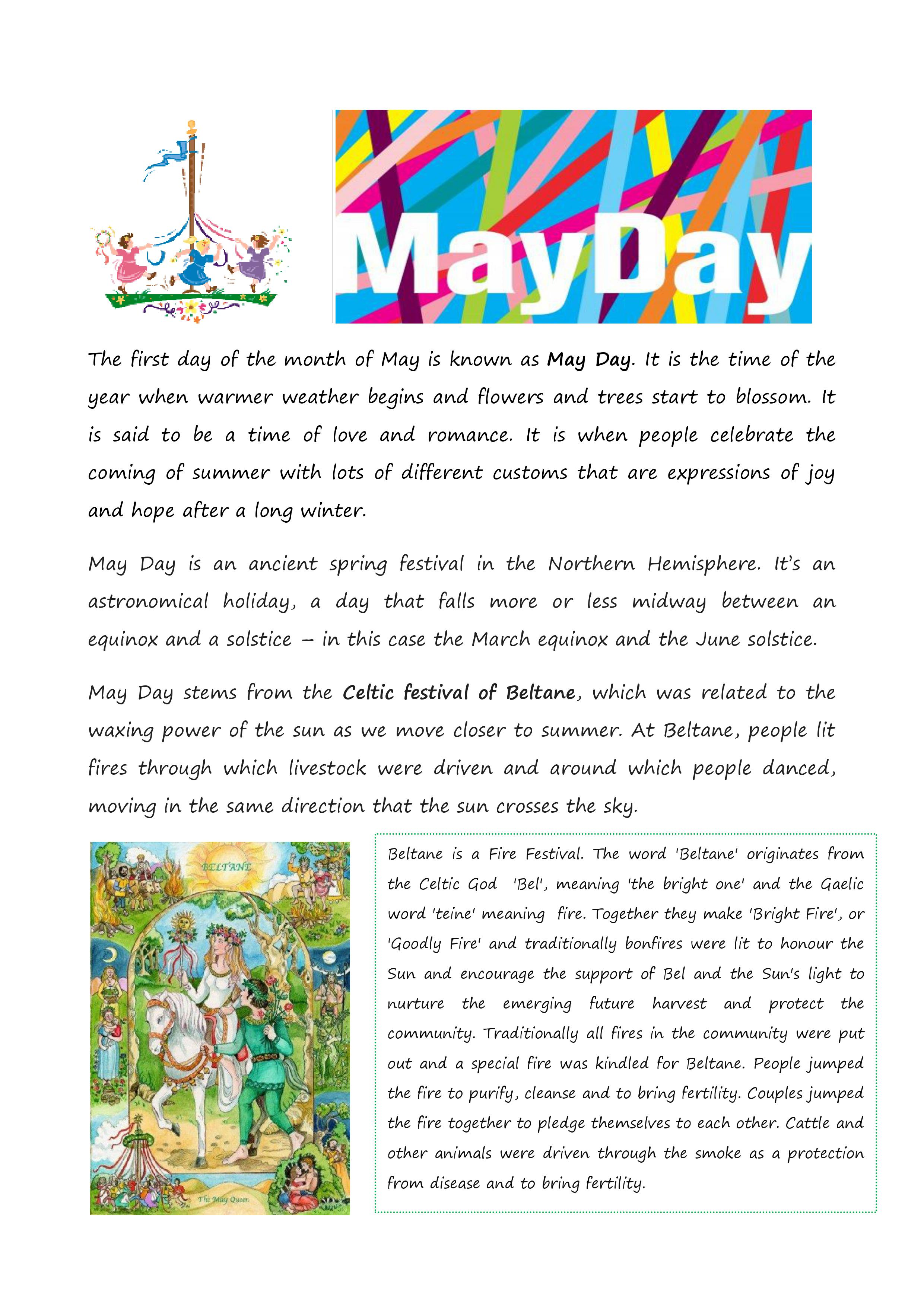 May Day School Is Cool