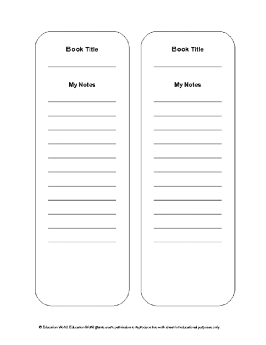 book review bookmarks leveled library