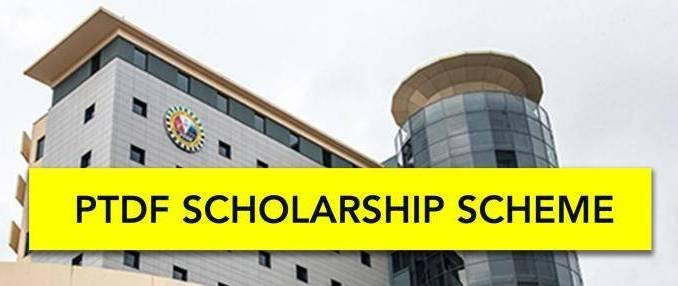 ptdf scholarship 2020