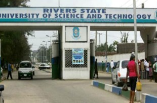 RSUST Part-time Certificate Programme In the Faculty of Environmental Sciences