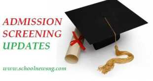 Post-UTME Admission Screening Information