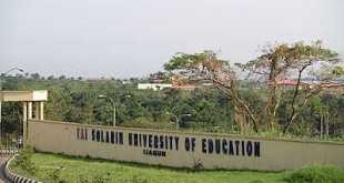 Tai Solarin University of Education (TASUED) News