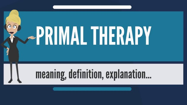 Primal Therapy Meaning
