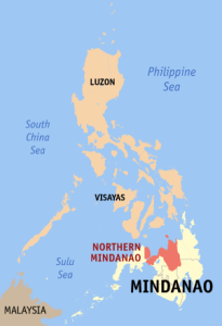 Photo credit: Wikipedia https://en.wikipedia.org/wiki/Northern_Mindanao