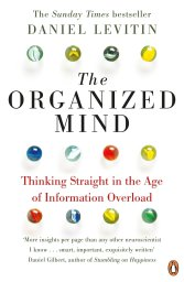 school of freedom - the organized mind