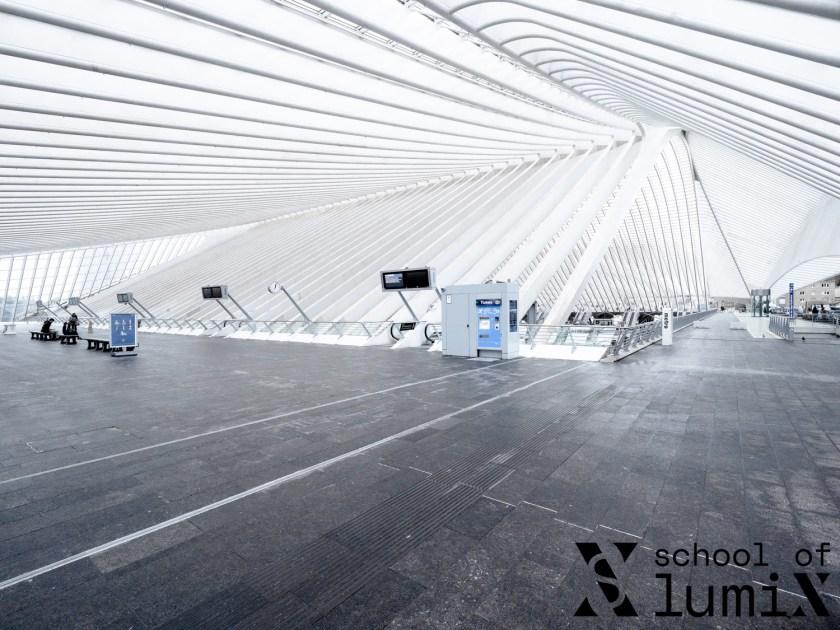 Bahnhof Liège Guillemins Workshop School of LUMIX