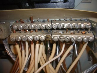 aluminum branch wiring with soot